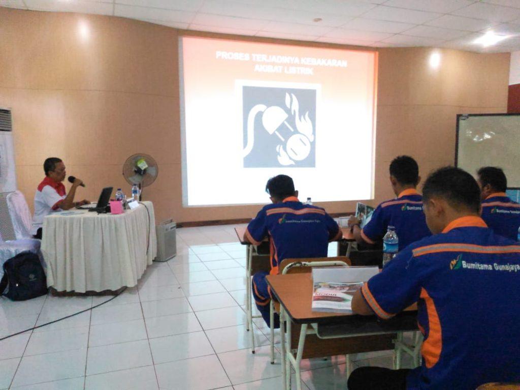 Pelatihan Teknisi K3 Listrik Sertifikasi Kemenaker, PT Bumitama Gunajaya Agro