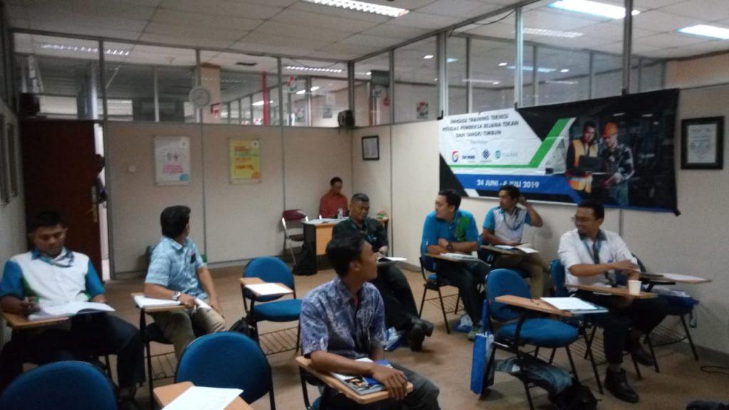 Training Teknisi Petugas Pemeriksa Bejana Tekan dan Tangki Timbun